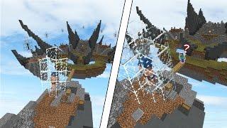 나만 시작안한척 하기ㅋㅋ외국인반응 꿀잼!*케이지 트랩*[마인크래프트 스카이워즈:트롤링][공갈]Minecraft Skywars Cage Trap