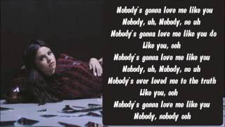 Selena Gomez - Nobody Karaoke / Instrumental with lyrics on screen