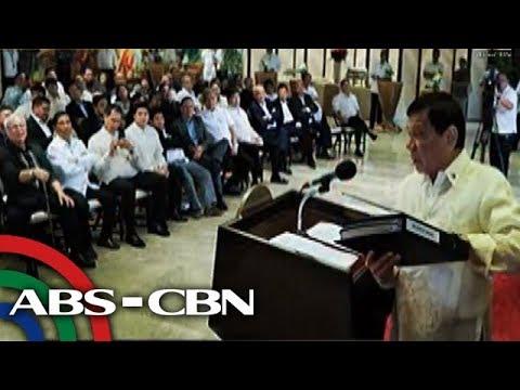 Bandila: Panibagong narco list, ipinakita ni Duterte