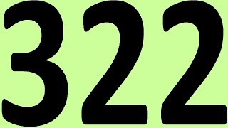 АНГЛИЙСКИЙ ЯЗЫК ДО АВТОМАТИЗМА ЧАСТЬ 2 УРОК 322 УРОКИ АНГЛИЙСКОГО ЯЗЫКА