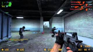 Maddyson в Counter Strike Source увлекательные истории . Стрим 28.01.2014 часть 1
