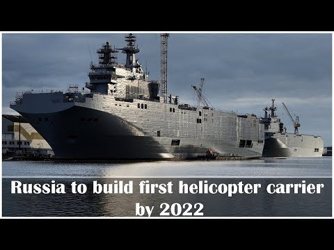 Russian Navy to Receive 1st Mistral-Alike Helicopter Carrier in 2022