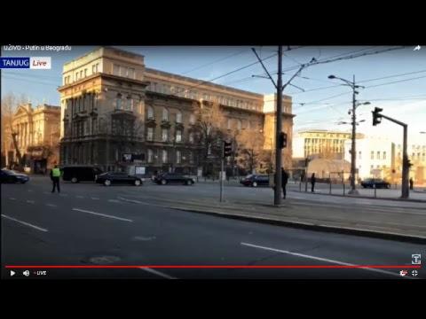 UŽIVO - Putin u Beogradu