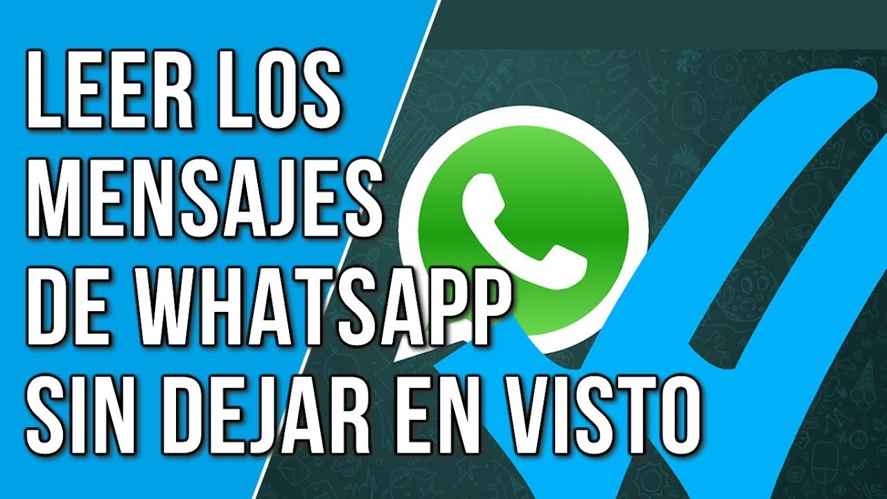 pueden leer mis mensajes de whatsapp