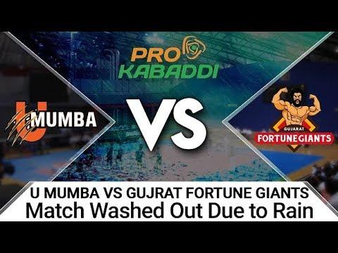Mumbai Rains:Life comes to a standstill, Kabaddi teams cant reach stadium