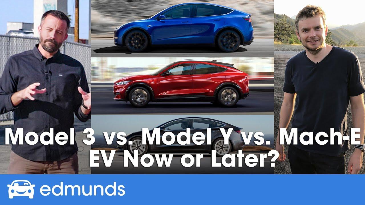 Tesla Model 3 vs. Model Y vs. Ford Mustang Mach-E: Price, Range, Interior & More