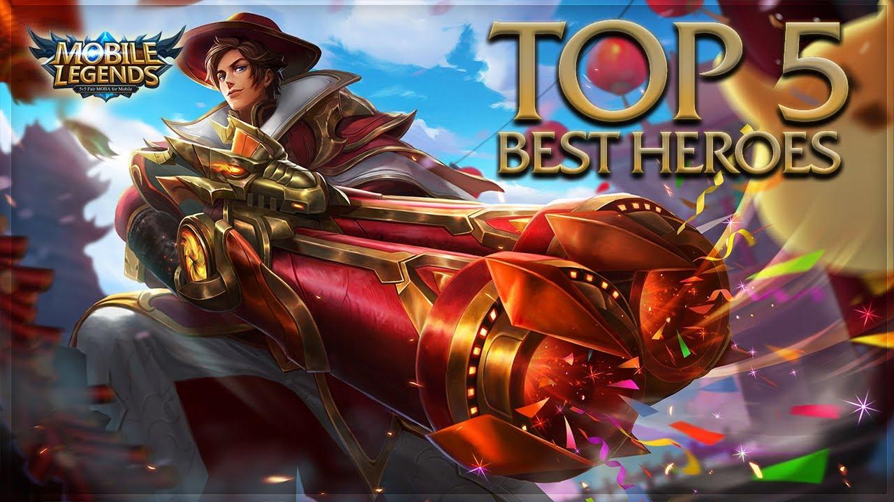 Mobile Legends: Top 5 Best Heroes Mobile Legends Needs