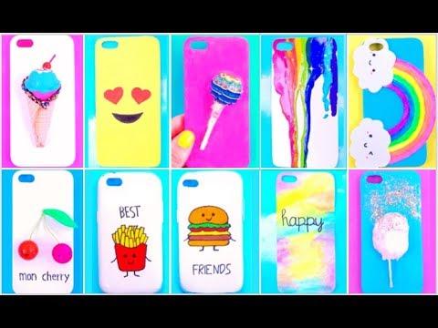 10 AMAZING DIY PHONE CASE LIFE HACKS | Phone DIY Projects Easy