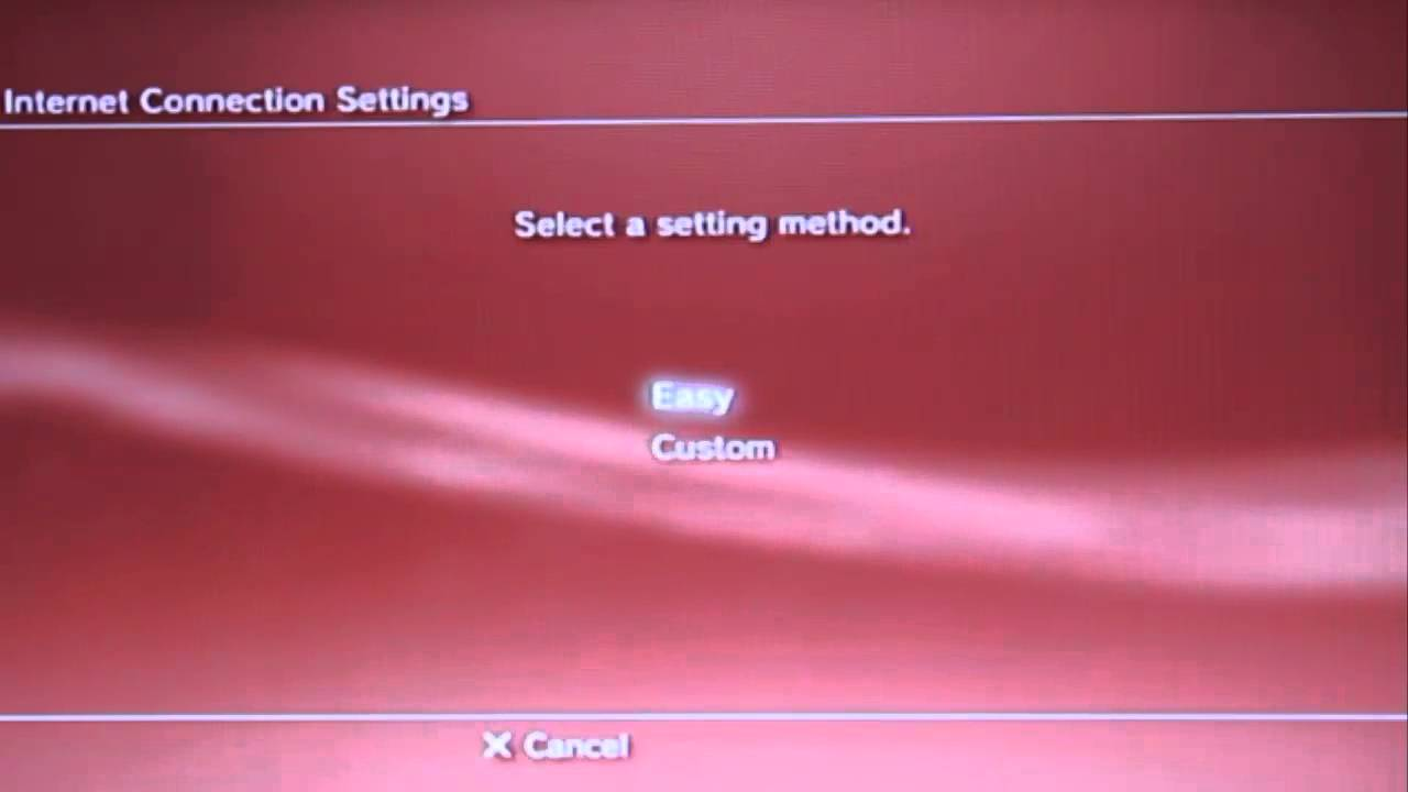 how to connect internet to playstation 3 using wired connection ...