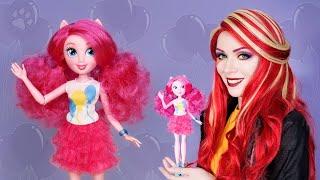 сладкая Пинки Пай - Девочки Эквестрии  Обзор  Pinki Pie - Equestria Girls