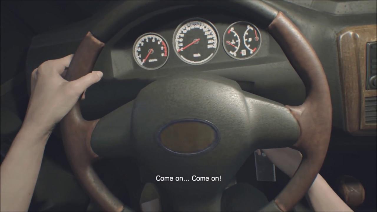 Resident Evil 7 Biohazard Daughters Dlc Get To Car In Garage Youtube