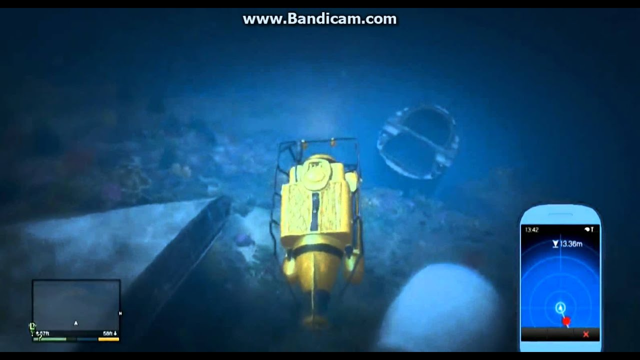 Find Me A Car >> Gta 5 - Submarine And Underwater Gameplay! - YouTube