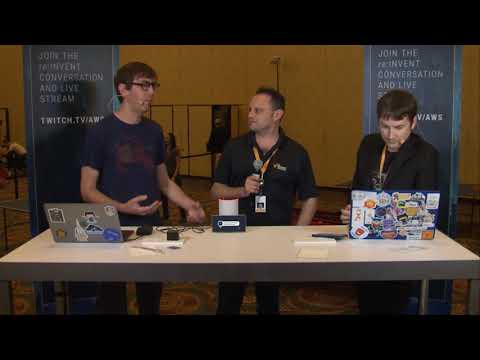 AWS re:Invent Launchpad 2017 - How CloudFormation Builds re:Invent