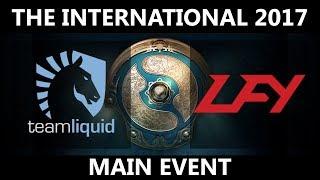 [MUST SEE!!!] Team Liquid vs LFY GAME 3, The International 2017, LFY vs Team Liquid