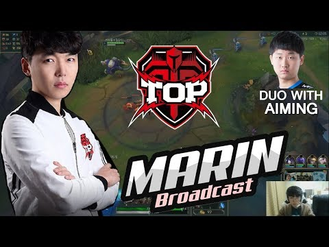 TOP Marin STREAM - FIRST STREAM AS TOP PLAYER - DUO WITH AFS-AIMING