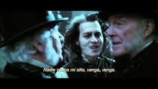 Sweeney Todd,  El Barbero Diabolico de la Calle Fleet: Tráiler En Español HD 1080P