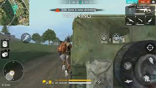 Professional Killer!!! FREE FIRE!!! 13kill!! 4 by car, 5 by SKS,  4 by SCAR