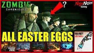 ALL BLACK OPS 3 ZOMBIES EASTER EGGS IN 1 STREAM WITH SUBS  | CALL OF DUTY: BLACK OPS 3 ☯SUB 4 LUCK☯