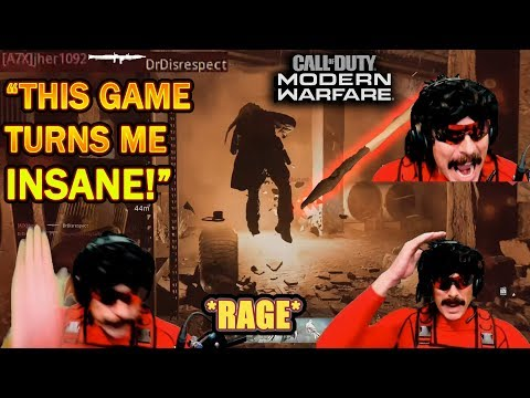 DrDisrespect SLAMS DESK In RAGE At RPG SPAM In COD Modern Warfare!