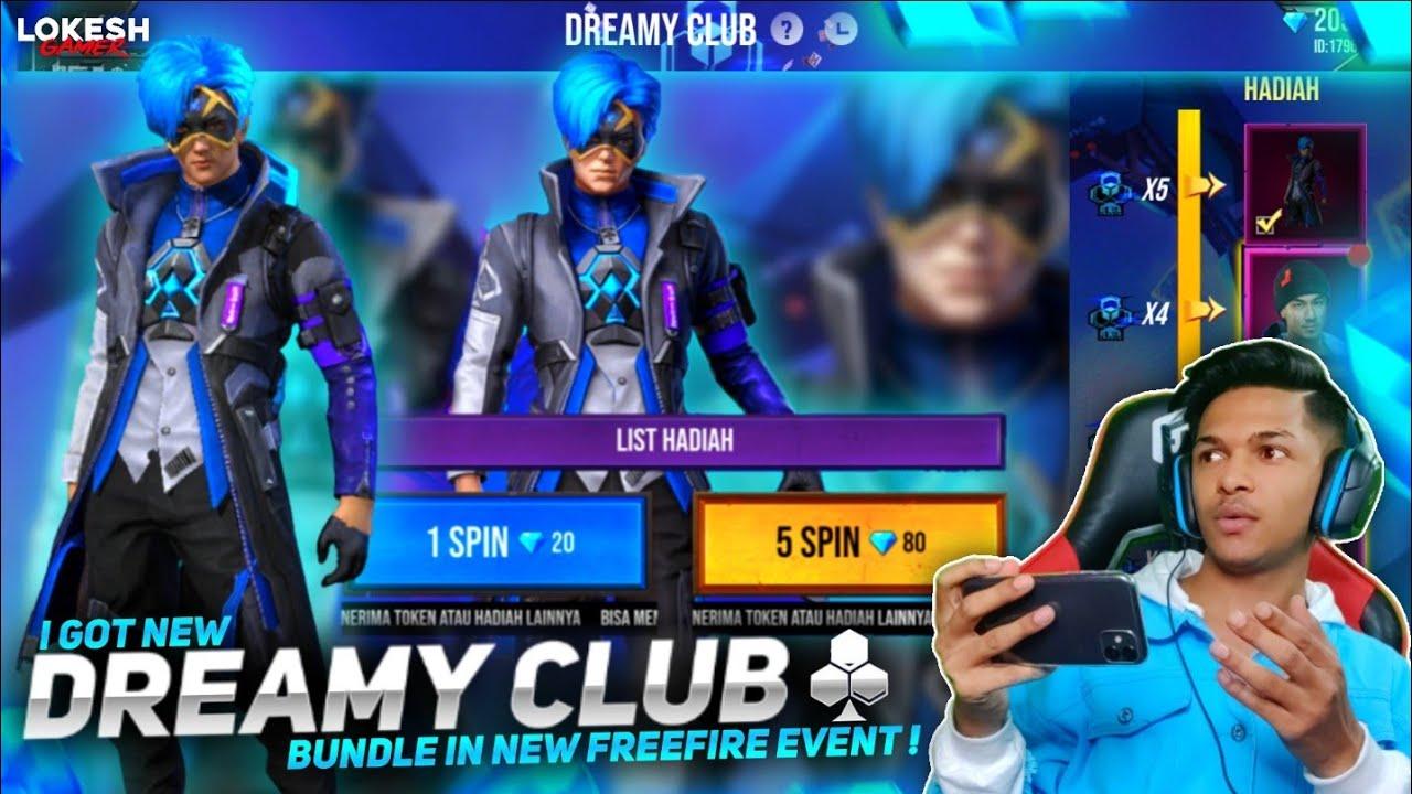 New Dreamy Club Event I Got New Dreamy Hair Bundle At Garena Free Fire 2020
