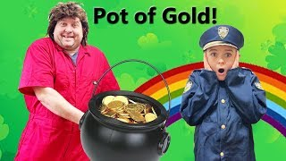 Where is the pot of gold? Sketchy searches for pretend play toys gold hilarious kids video