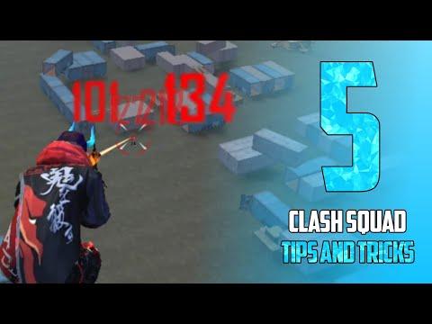 5 CLASH SQUAD TRICKS IN FREE FIRE - para SAMSUNG,A3,A5,A6,A7,J2,J5,J7,S5,S6,S7,S9,S10,A20,A30,A50