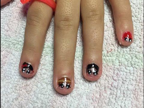 Uñas Para Niñas Decoradas Princesas Disney Disney Princess Nail