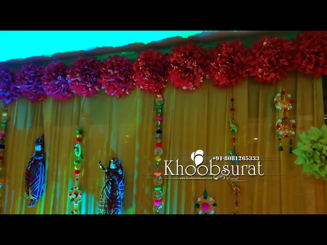 Mehendi Ceremony setup #khoobsuratevents