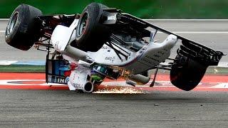 Crazy F1 CRASH Compilation - Worst Formula 1 Accident Ever