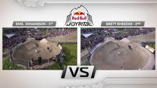 Johansson Vs Rheeder Side by Side Runs - 2019 Red Bull Joyride