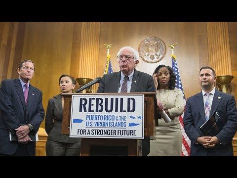 Bernie Sanders Unveils Puerto Rico, Virgin Islands Plan