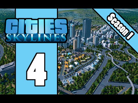 Cities Skylines - E4 - Planning The CBD