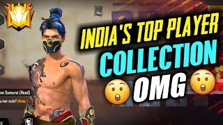 Indian Top No.1 Noob Player Collection - Garena Free Fire
