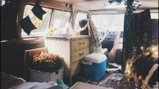 Van Tour! // Solo Female Van w/ Self Build Bed Platform ☆