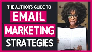 EMAIL MARKETING STRATEGY FOR AUTHORS | 4 Ways To Use Email Marketing To Sell Your eBooks Online