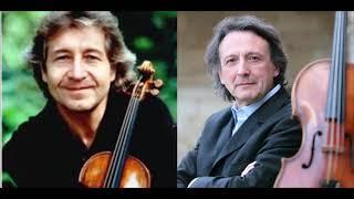 """Mozart """"Sinfonia Concertante"""" Pierre Amoyal/Gérard Caussé"""