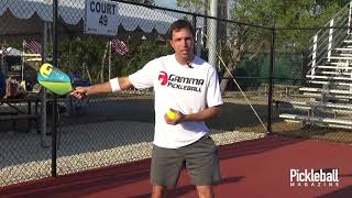 Pickleball Serve: The Four Stages of Development
