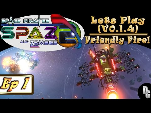 Space Pirates and Zombies 2 ► Let's Play Episode 1 - Cap'n Deluks! (Sandbox Game)