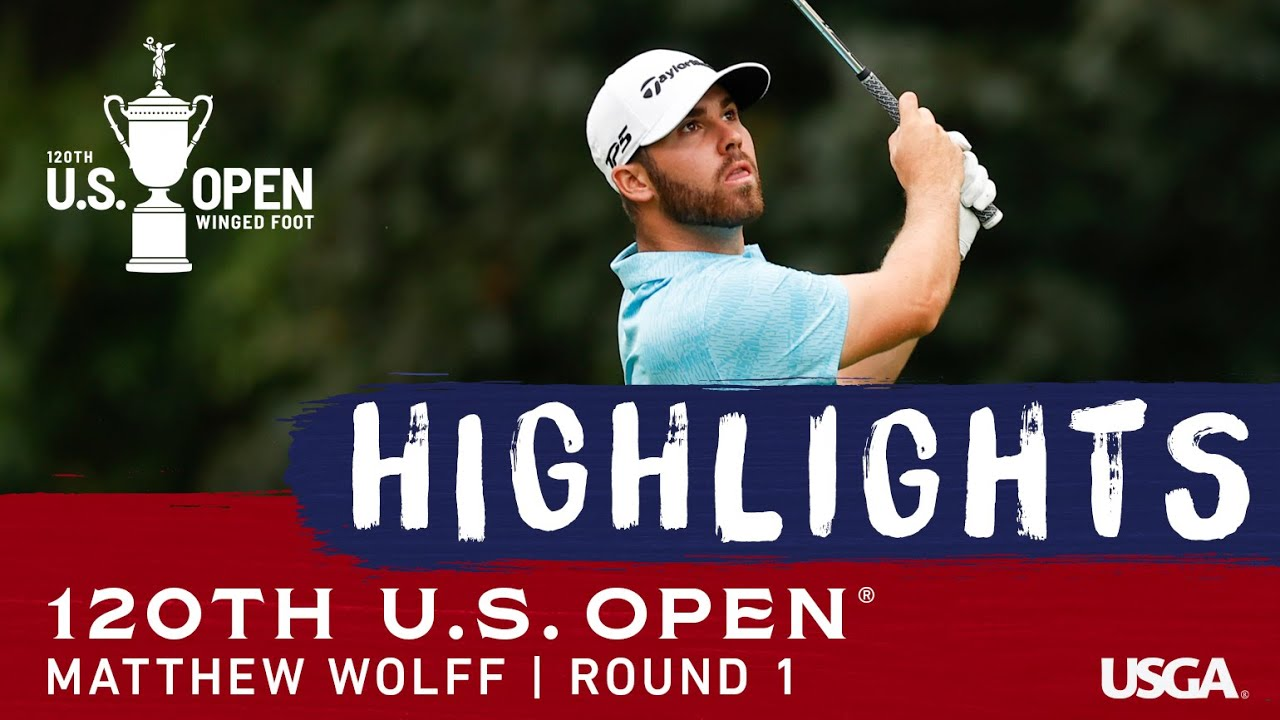 2020 U.S. Open, Round 1: Matthew Wolff Highlights