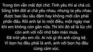 Hát cho em mỗi ngày - Eddy Kiên (Lyrics)