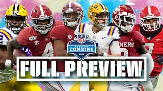 FULL Combine Preview: Every QB, WR & RB to Watch