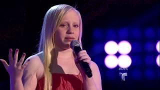 """Yanelis Rivera canta """"La de la mala suerte"""" en La Voz Kids"""