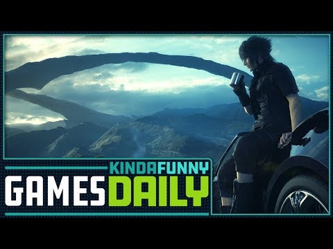 Final Fantasy XV Director's New Studio - Kinda Funny Games Daily 03.27.18