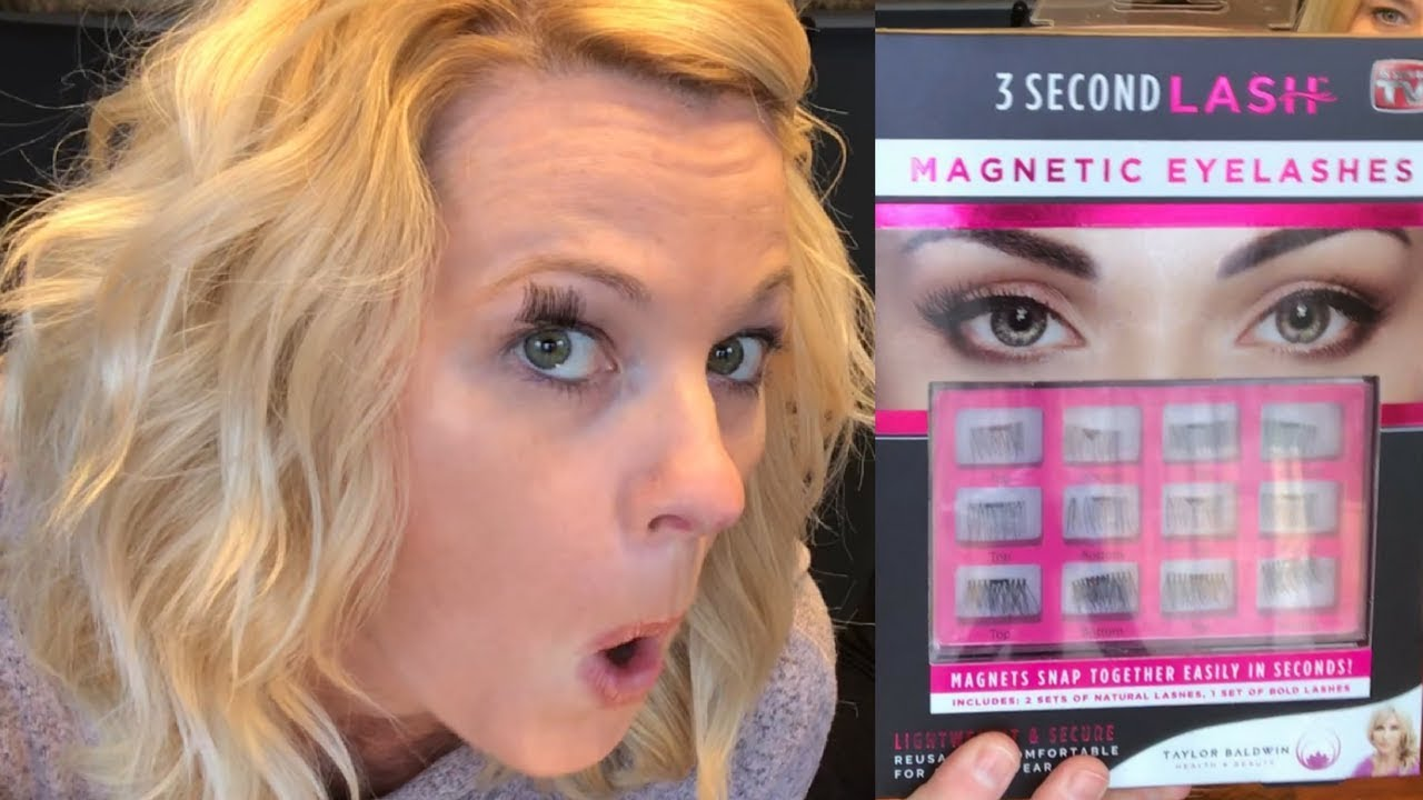 aab0812396d 3 Second Lash Magnetic Eyelashes Review - YouTube