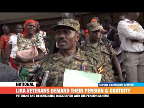 #PMLIVE:  LIRA VETERANS DEMAND THEIR PENSION AND GRATUITY