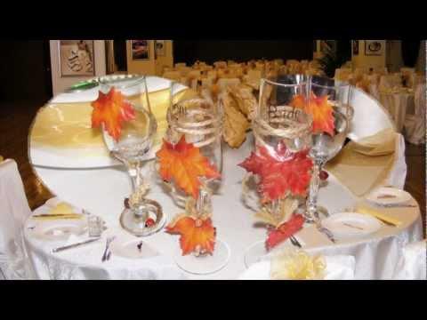 Camimariage Galati - Aranjamente si decoratiuni Nunta -  tema Simfonia Toamnei