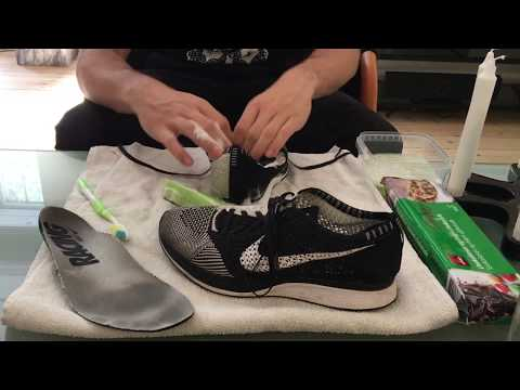 Cheapest way to clean sneakers - Dansk