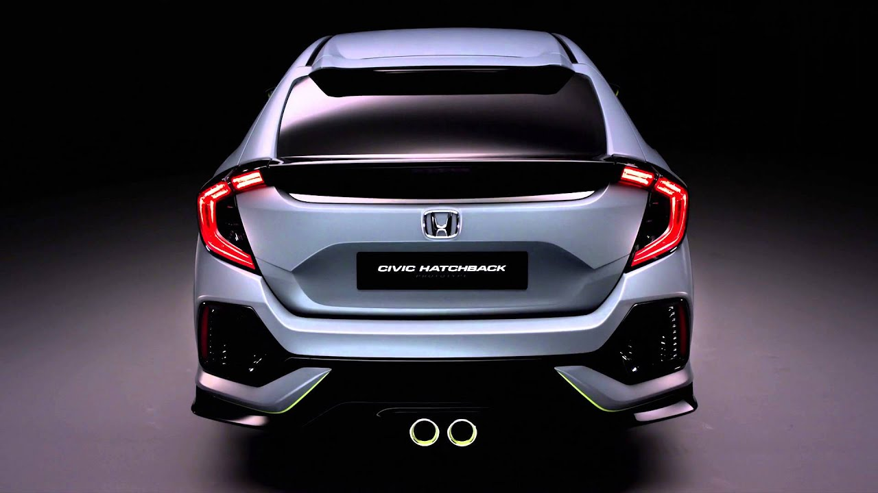2016 honda civic hatchback prototype studio film youtube. Black Bedroom Furniture Sets. Home Design Ideas