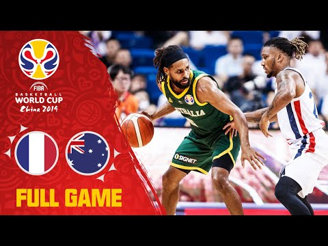France Had No Answer For Mills & Australia - Full Game - FIBA Basketball World Cup 2019