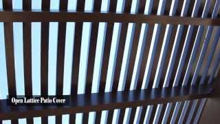 Aluminum Lattice Patio Cover